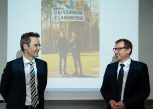 Lambert T. Koch (links) und Erich Schwarz (rechts) | Foto: aau/photo riccio