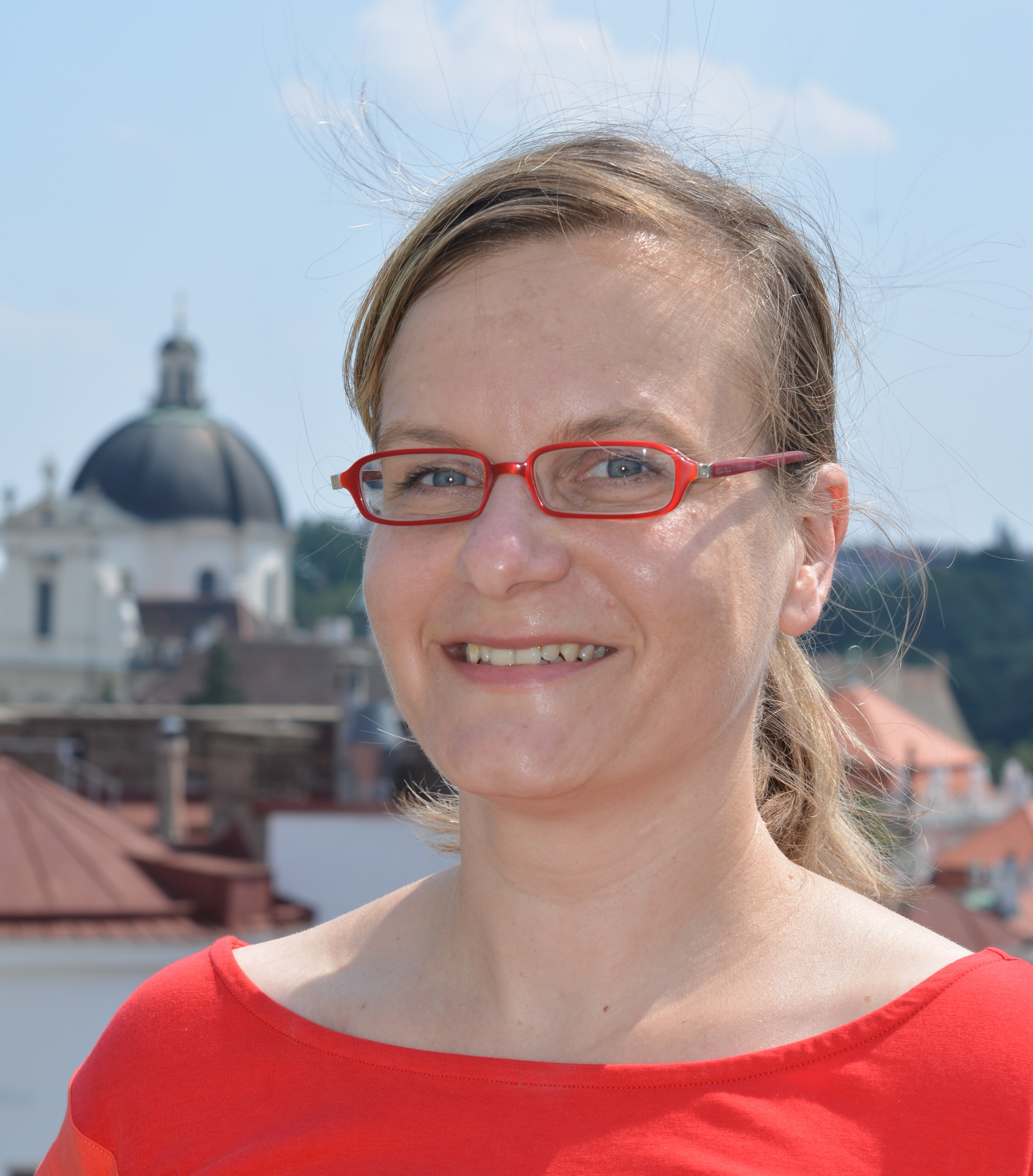 Mitarbeiterin Anja Bauer