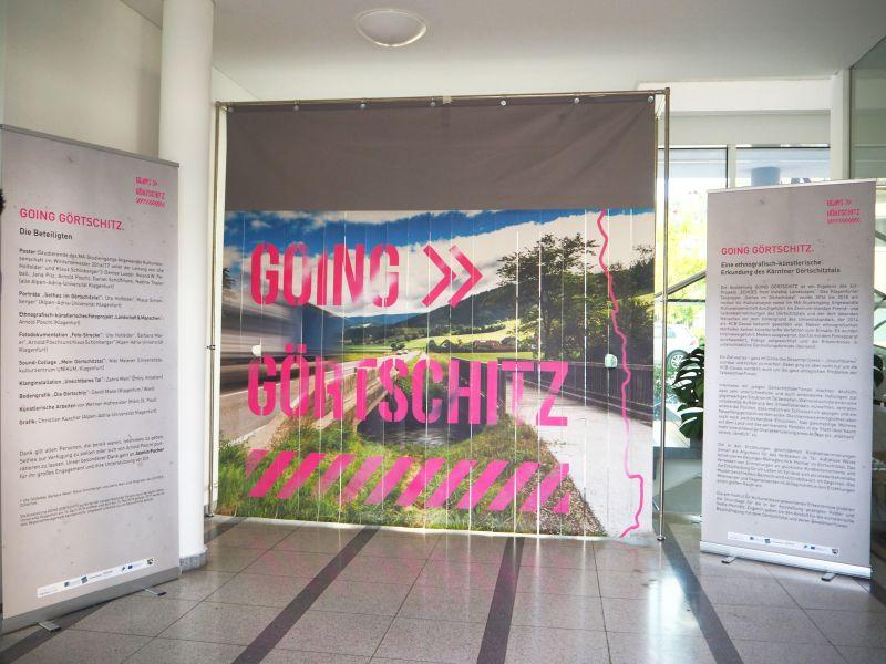 Eröffnung der Ausstellung GOING GÖRTSCHITZ am 23. Mai 2019