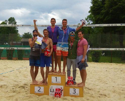 Kärntner Akademisch Meisterschaften im beachvolleyball (Siegerehrung