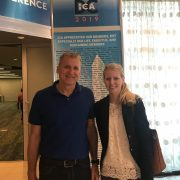 Prof. Dr. Ralf Terlutter and Svenja Diegelmann at ICA Conference in Washington D.C.