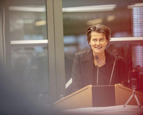 Alice Pechriggl | Foto: K.H. Fessl (Eröffnung der Ausstellung von Ruth Hanko)