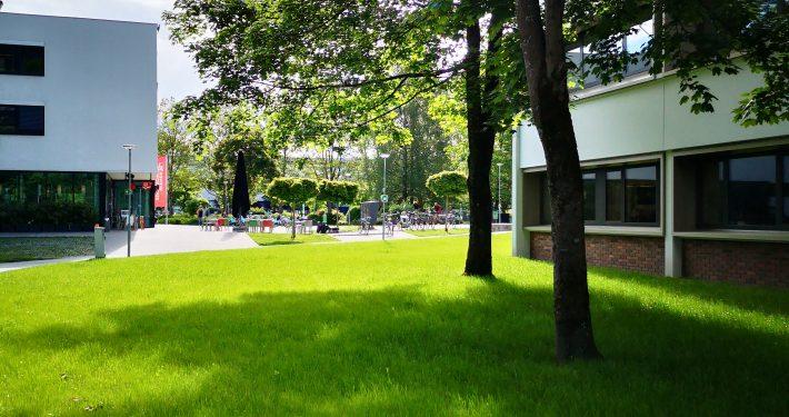 Grüner Campus der Universität Klagenfurt