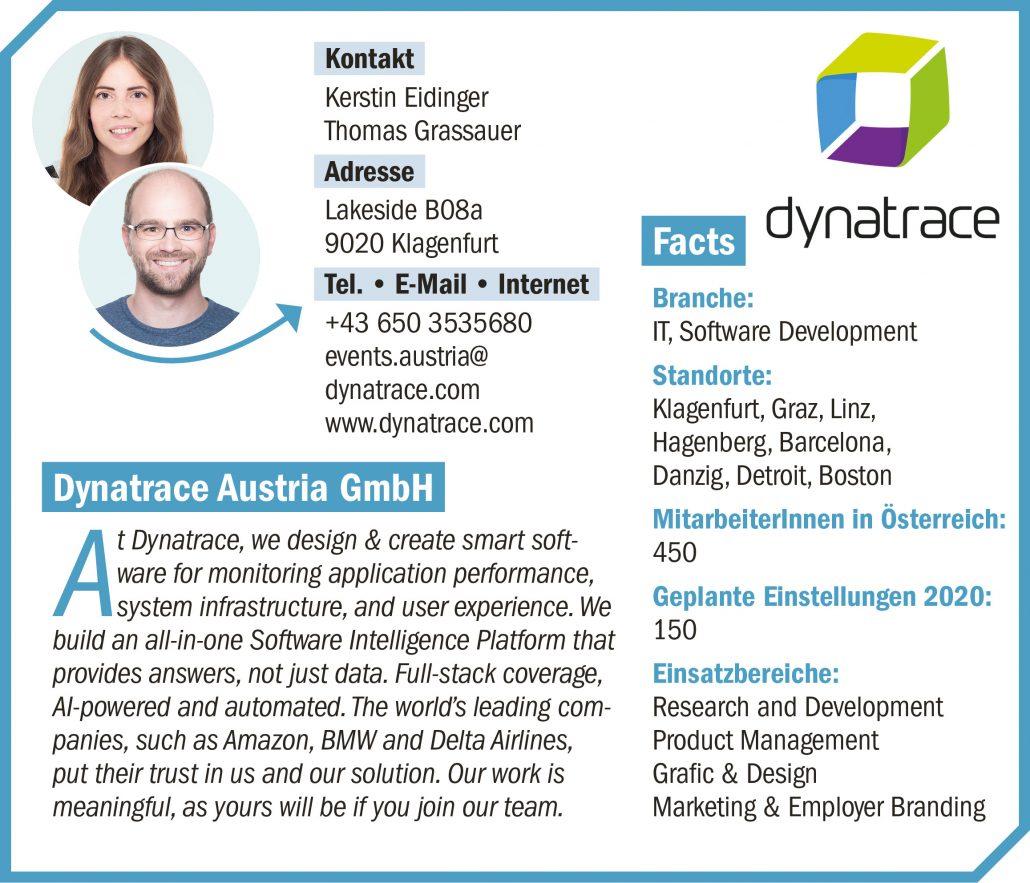 connect19-Firmenprofil Dynatrace