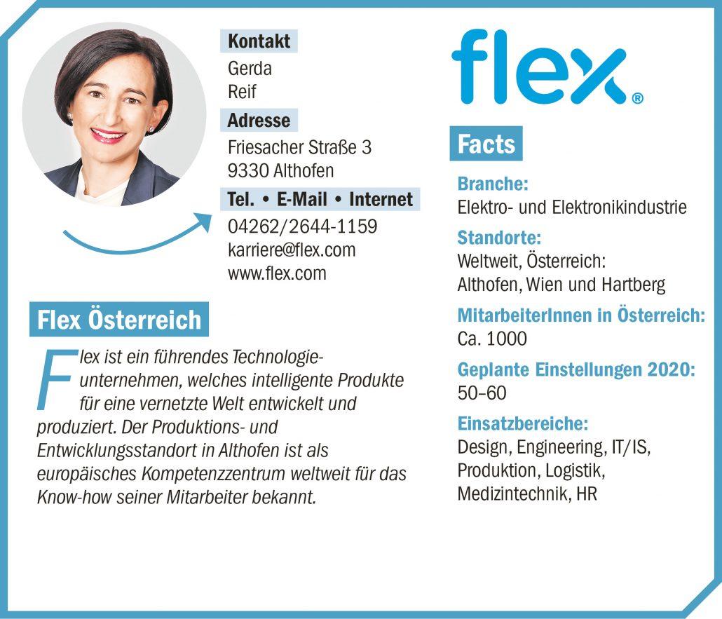 connect19-Firmenprofil Flex
