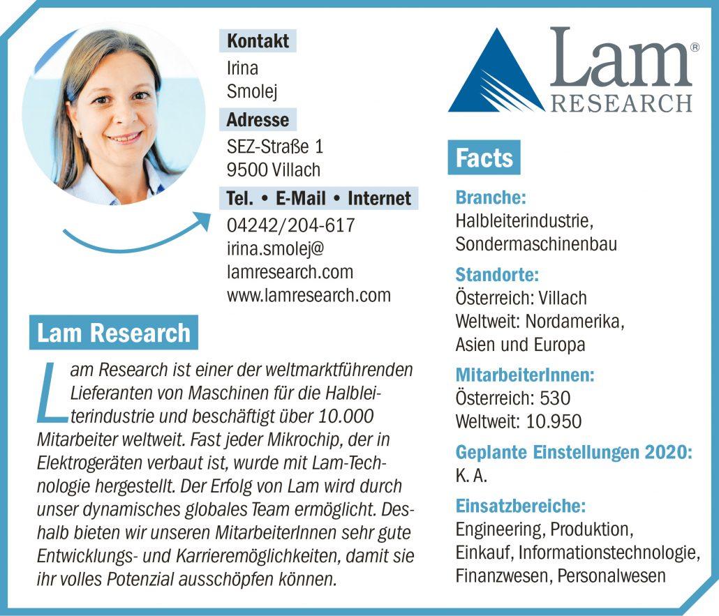 connect19-Firmenprofil LAM RESEARCH