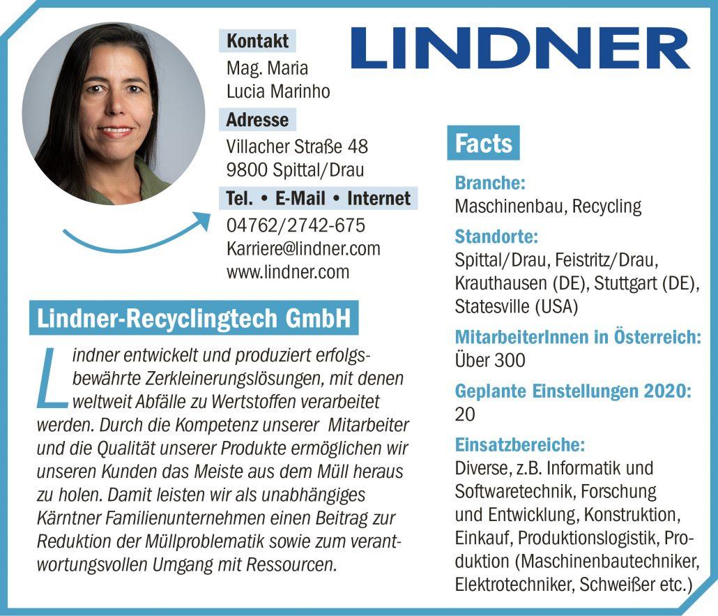 connect19-Firmenprofil Linder RT