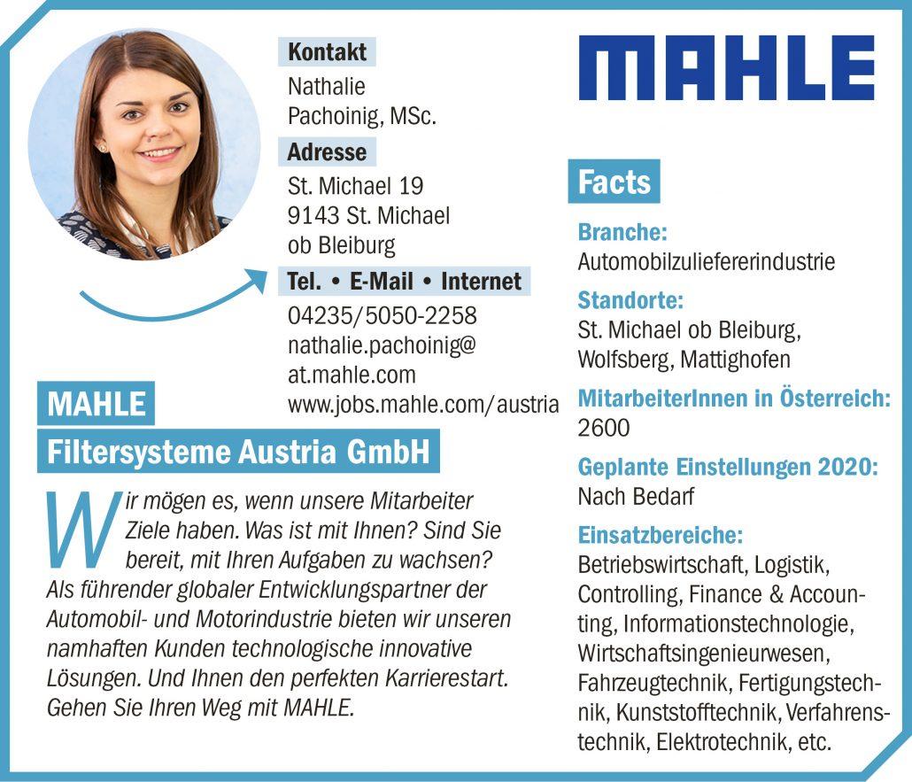 connect19-Firmenprofil MAHLE