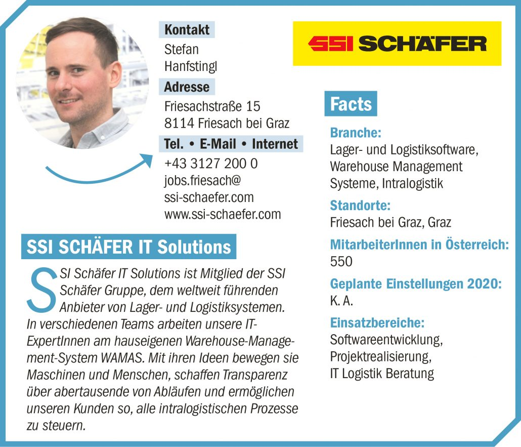 connect19-Firmenprofil SSI SCHÄFER