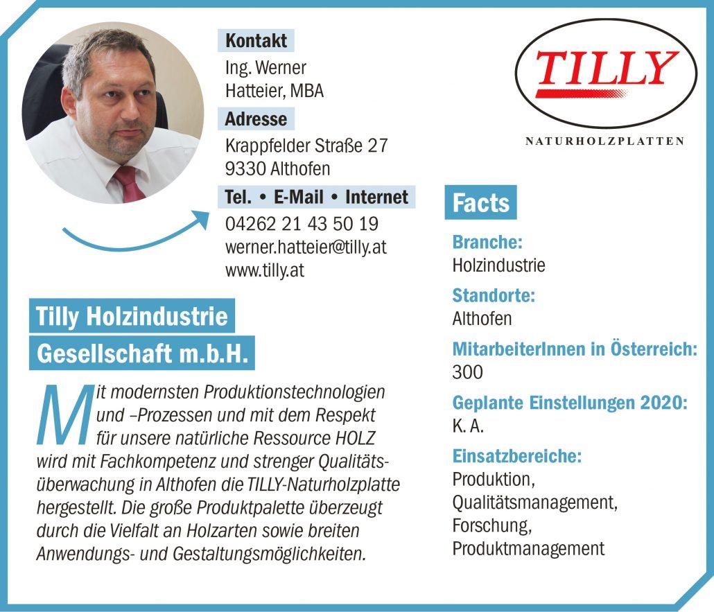 connect19-Firmenprofil Tilly