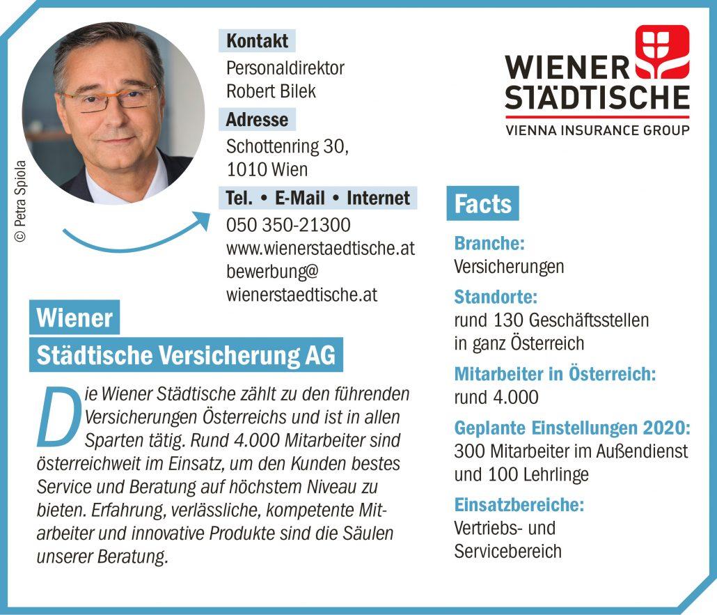 connect19-Firmenprofil WIENER STÄDTISCHE VERSICHERUNGS AG