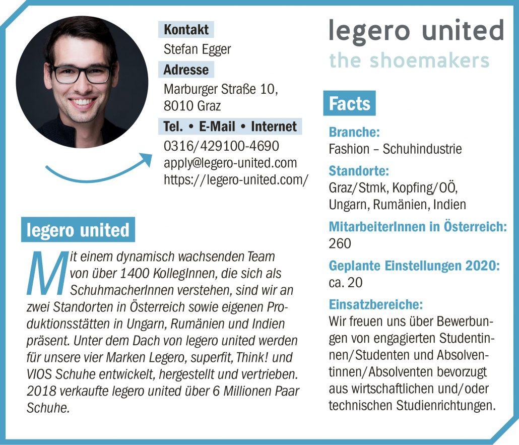 connect19-Firmenprofil legero united
