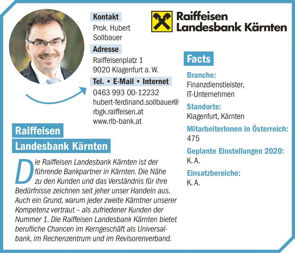 connect19-Firmenprofil Raiffeisen Landesbank