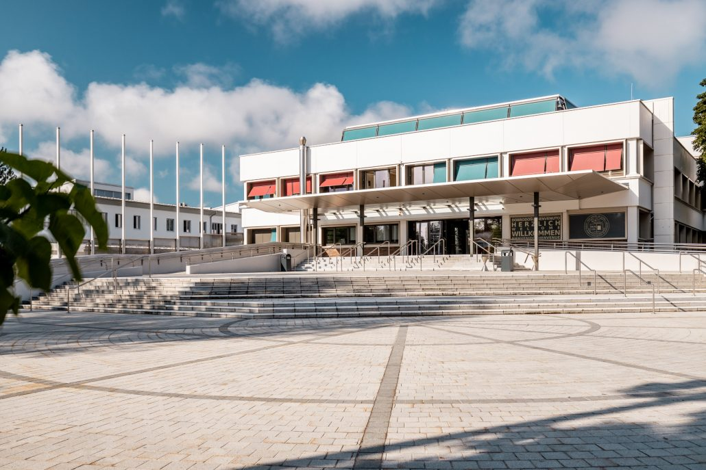 Universität Klagenfurt Haupteingang 2019