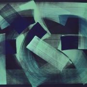 Claudia Hirtl, Hauptsatz 1054, Tempera auf Leinwand, 200x250x3 cm, 2019l