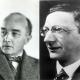 Porträts von Alfred Döblin und Robert Musil