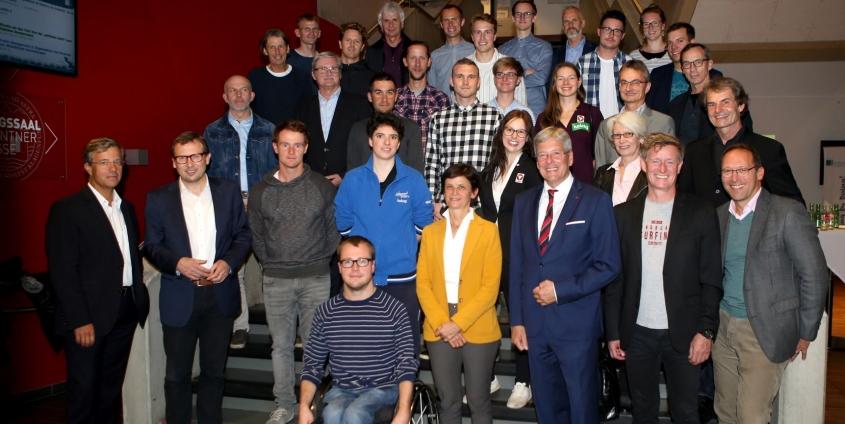 Semester Warm-up Spitzensport und Studium | Foto: Peter Kuess