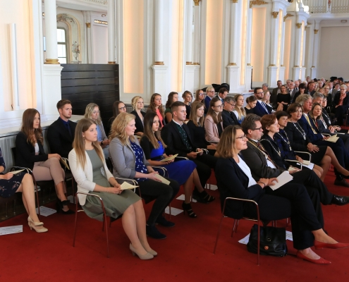 Sponsion der ersten Absolventen des BA-Lahramt | Foto: Martin Größler/PHSt