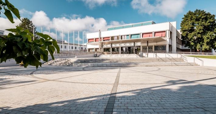 Haupteingang Uni Klagenfurt | Foto: aau/Daniel Waschnig