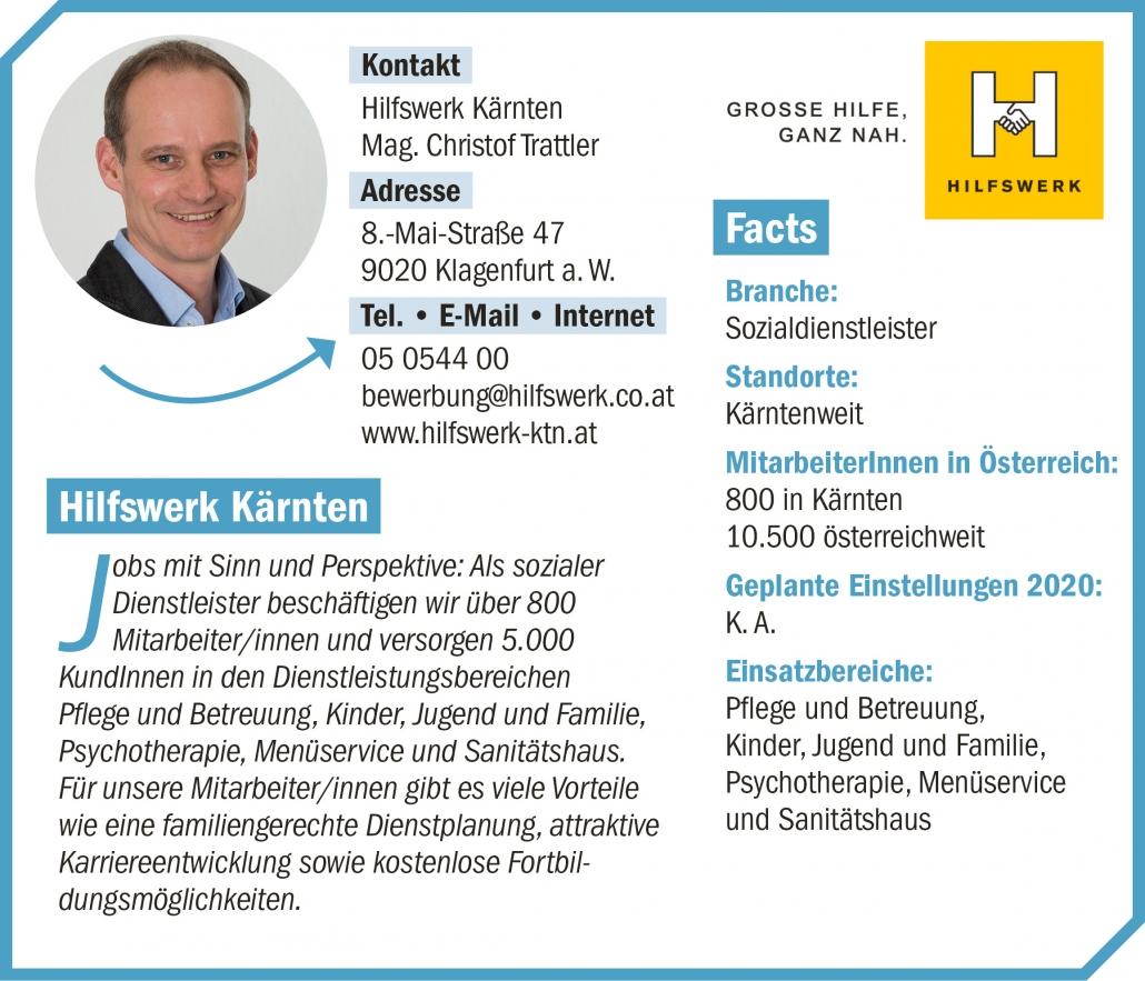 connect19-Firmenprofil Hilfswerk Kärnten