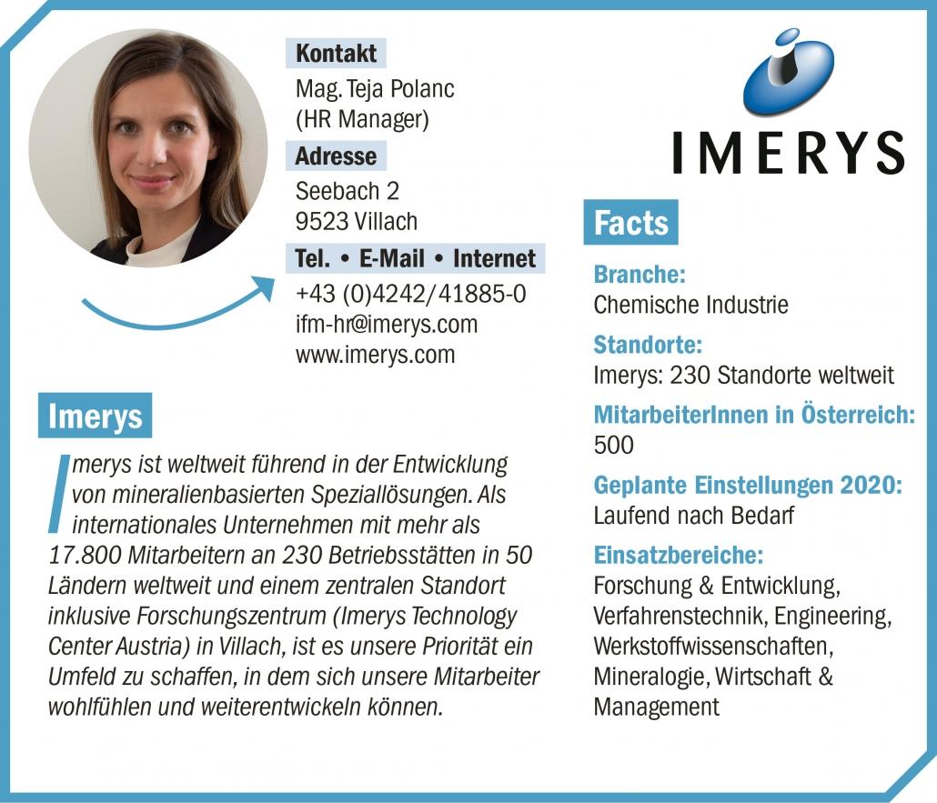 connect19-Firmenprofil Imerys
