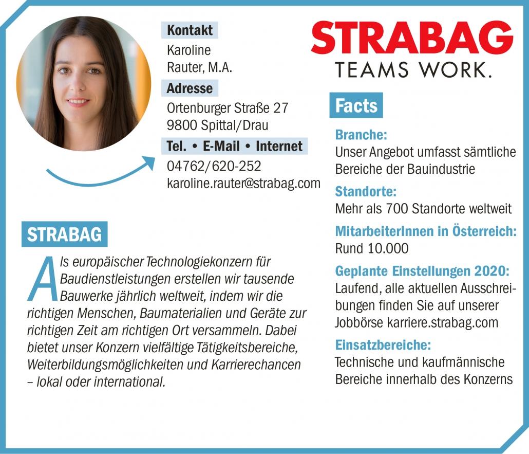 connect19-Firmenprofil Strabag