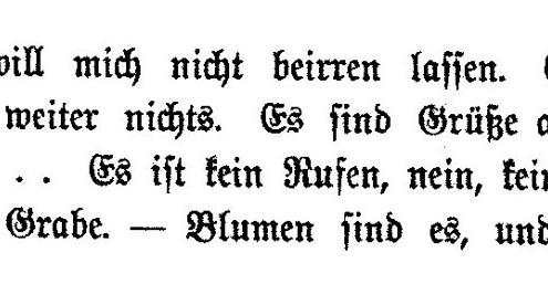 Bildnachweis: Blumen. In: Arthur Schnitzler: Die Frau des Weisen. Novelletten. Berlin: S. Fischer 1898, S. 124.