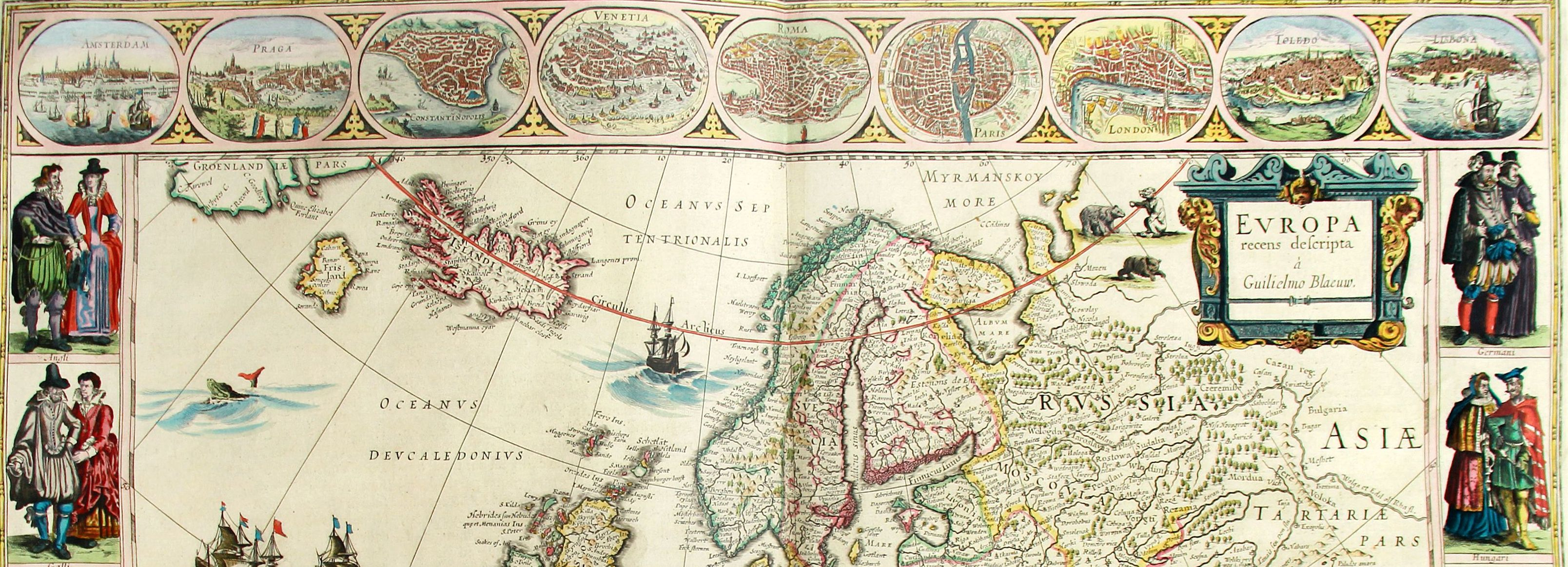 Atlas Novus: Europa-Karte