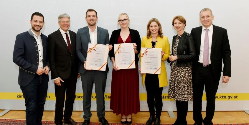 Scholarship awarded to Ines Komar, BSc MSc, Photo: Komar, I.