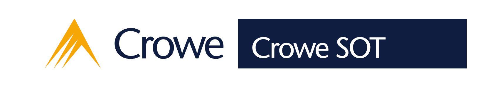 Logo Crowe SOT