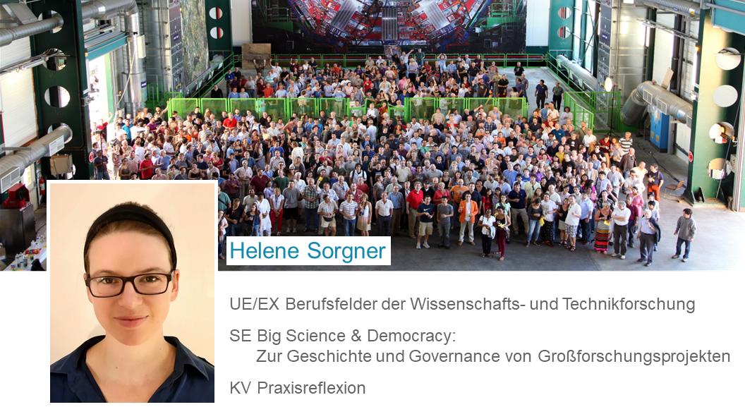 Helene Sorger: SE Berufsfelder der Wissenschafts- und Technikforschung