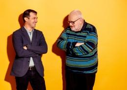 Reinhard Neck und Dmitri Blüschke im Gespräch | Foto: aau/Daniel Waschnig