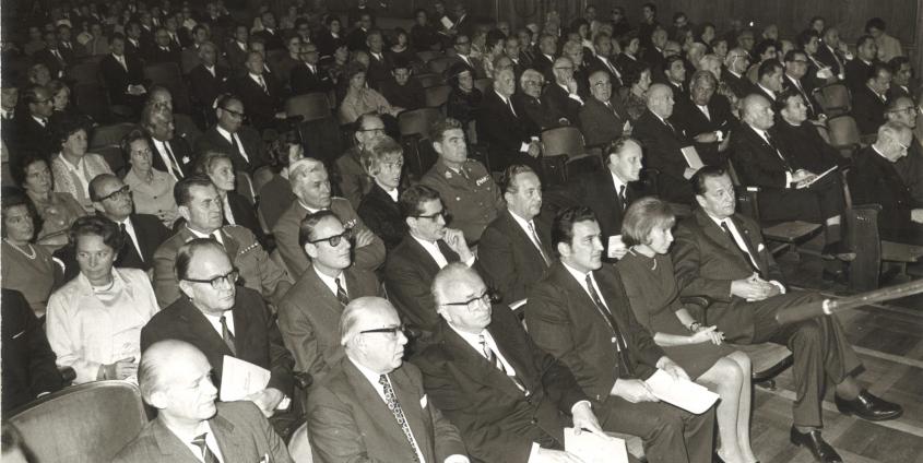 17. Kärntner Hochschulwoche im Klagenfurter Konzerthaus im September 1970 | Foto: AAU-Archiv