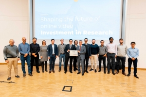 Eröffnung des Christian Doppler Labors ATHENA mit dem ATHENA-Team