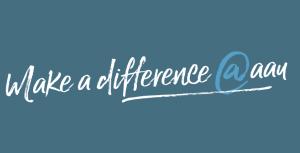 Make a difference LOGO blau