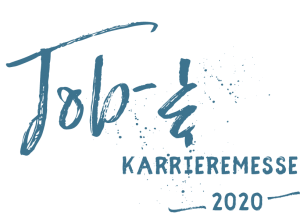 Slogan connect 2020 blau