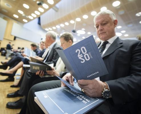 Feierlichkeiten zum 50-Jahr-Jubiläum der Universität Klagenfurt | Foto: Helge Bauer