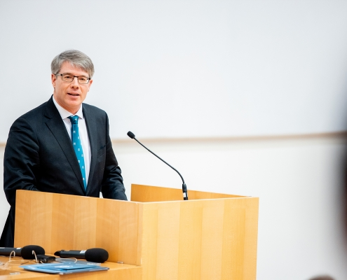 Oliver Jens Schmitt von der Österreichischen Akademie der Wissenschaften | Foto: aau/Daniel Waschnig