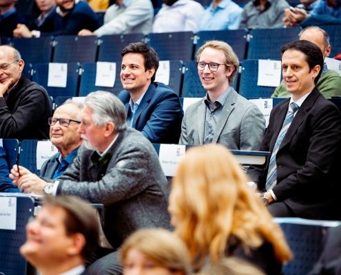 Stefan Lederer, Christopher Müller und Christian Timmerer von Bitmovin
