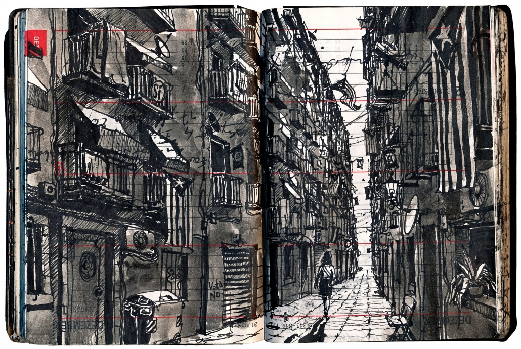 Olaf Osten: Pendeln 208/Barcelona, Solo