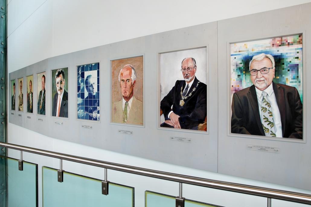 Kunst auf dem Campus, Die Rektoren der Alpen-Adria-Universität Klagenfurt seit der Gründung 1970