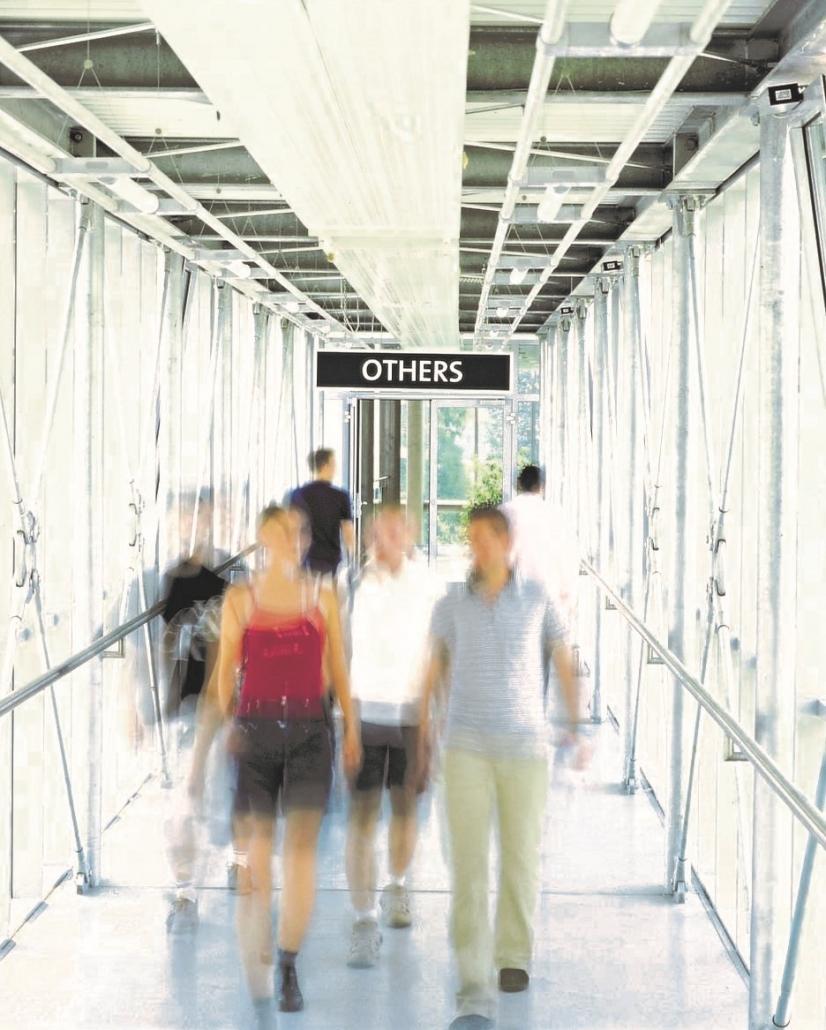 Kunst auf dem Campus, Śejla Kamerić: EU/OTHERS, Others, 2002