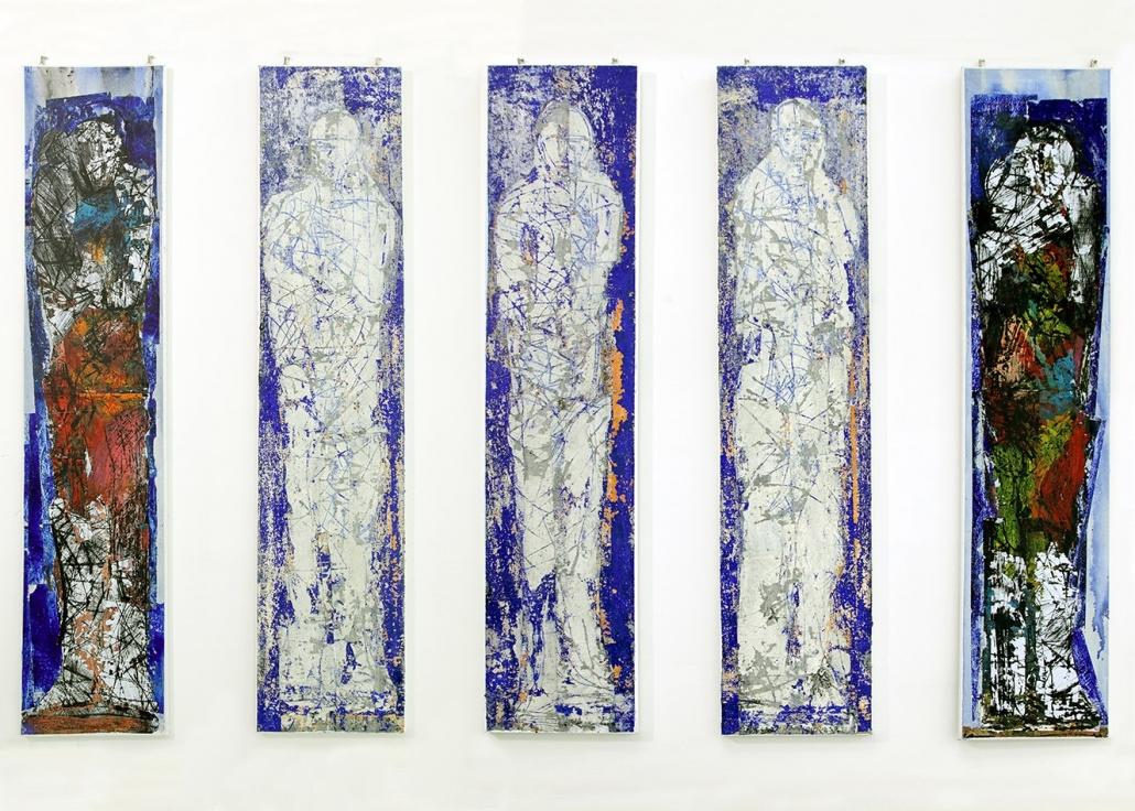 Kunst auf dem Campus, Valentin Oman: Fünf Ecce Homo, 2006-08