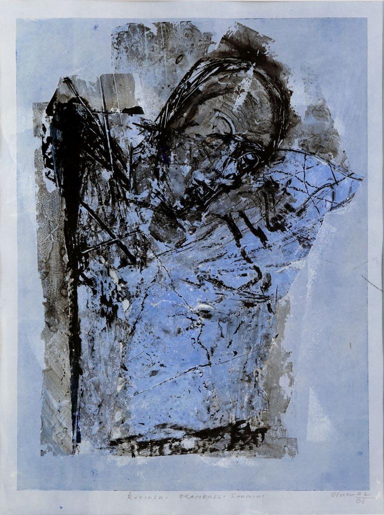 """Kunst auf dem Campus, Valentin Oman: Acht """"Torsi"""", 2001-06"""