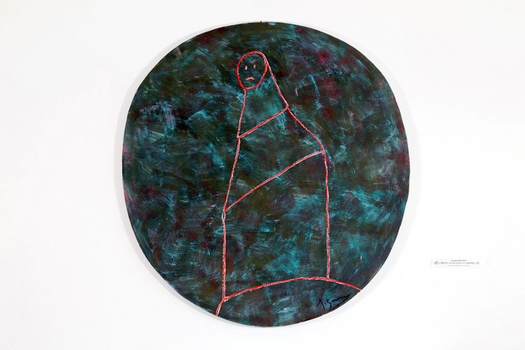 Kunst auf dem Campus, Johanes Zechner: BRECHT - TILLY LAB CIRCLE, 2012