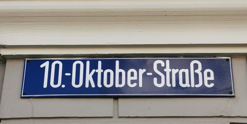 10.-Oktober-Straße | Foto: Katharina Tischler-Banfield