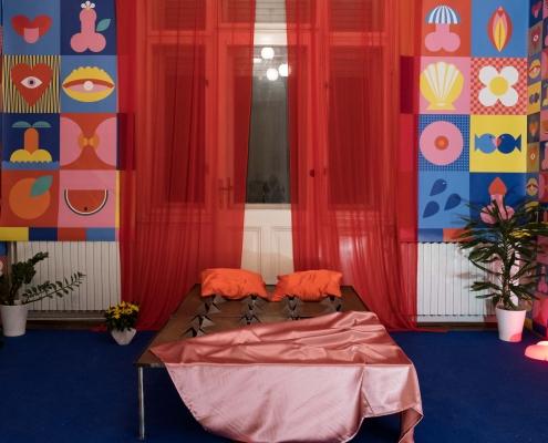"Installation Rina Barbarić – ""Room of losing your virginity"" | Foto: Nina-Đurđević"
