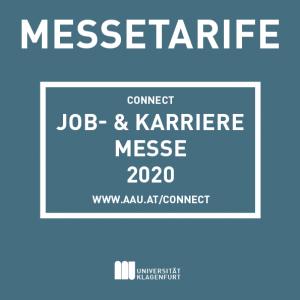 GRAFIK: Messetarife connect 2020