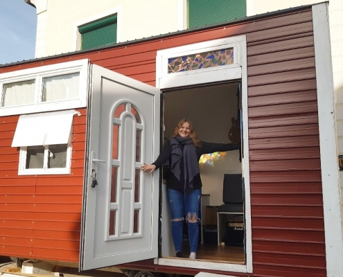 Maria Kravanja, Tiny House | Foto: aau/privat