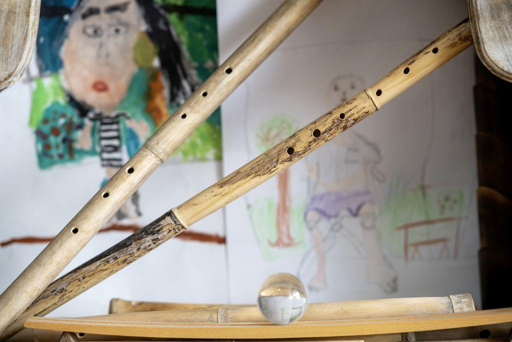 Bambusflöten von Jazz-Saxophonist Wolfgang Puschnig